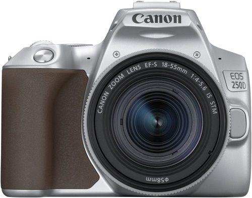 Canon EOS 250D stříbrný + Canon EF-S 18-55mm f/4-5,6 IS STM
