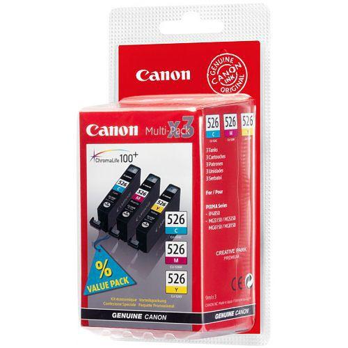 Canon CLI-526 CMY - cartridge