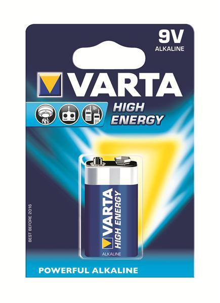 Varta High Energy 9V (6F22, 4922)