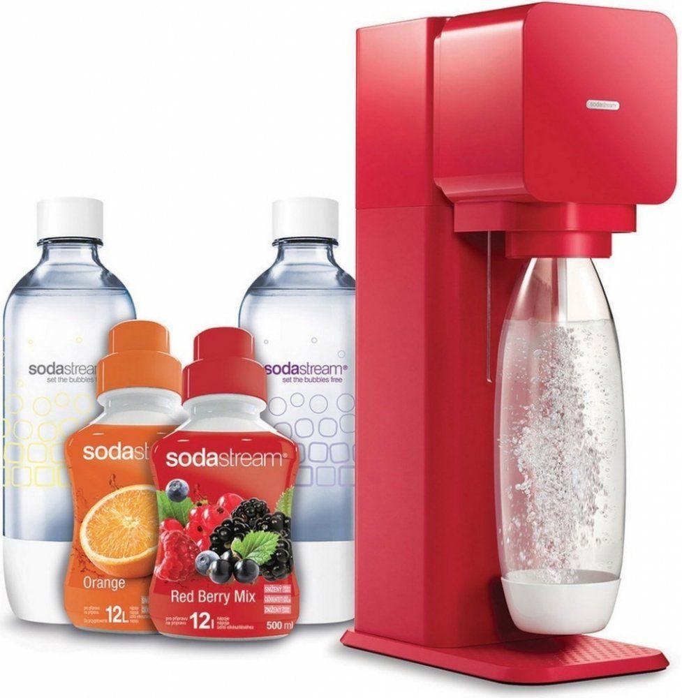 Sodastream Play LE 2v1 červená + dárek Sodastream Italian Spritz sirup (500ml) zdarma