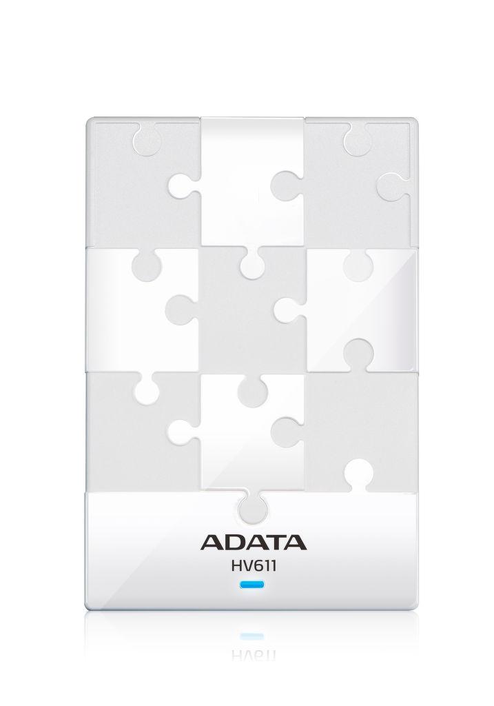 A-Data HV611, AHV611-1TU (bílý) - externí disk