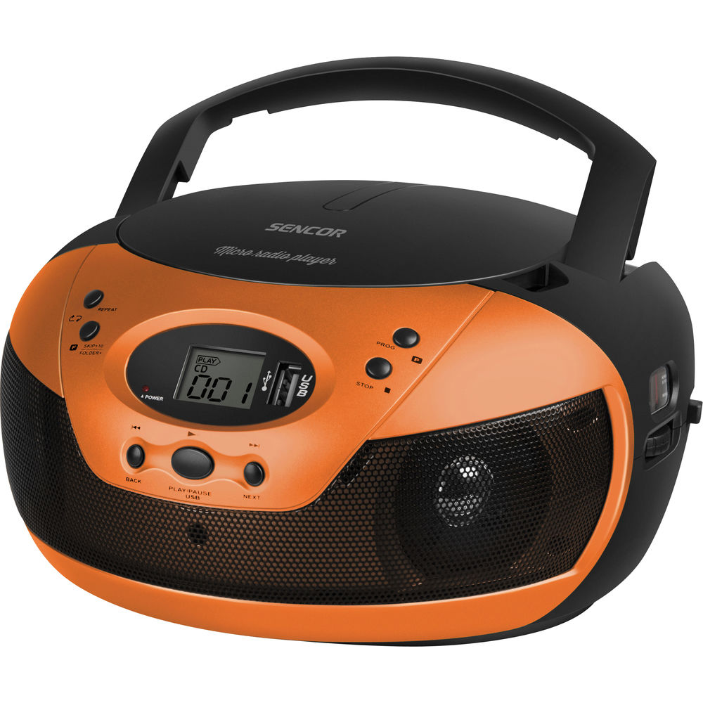 Sencor SPT 229 (oranžový) - rádio
