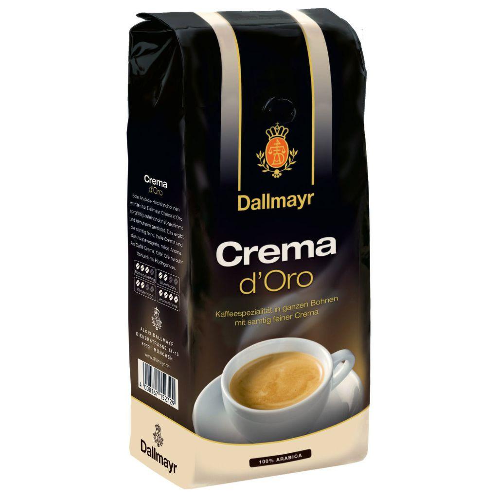 Dallmayr Crema dOro zrnková 1kg - káva