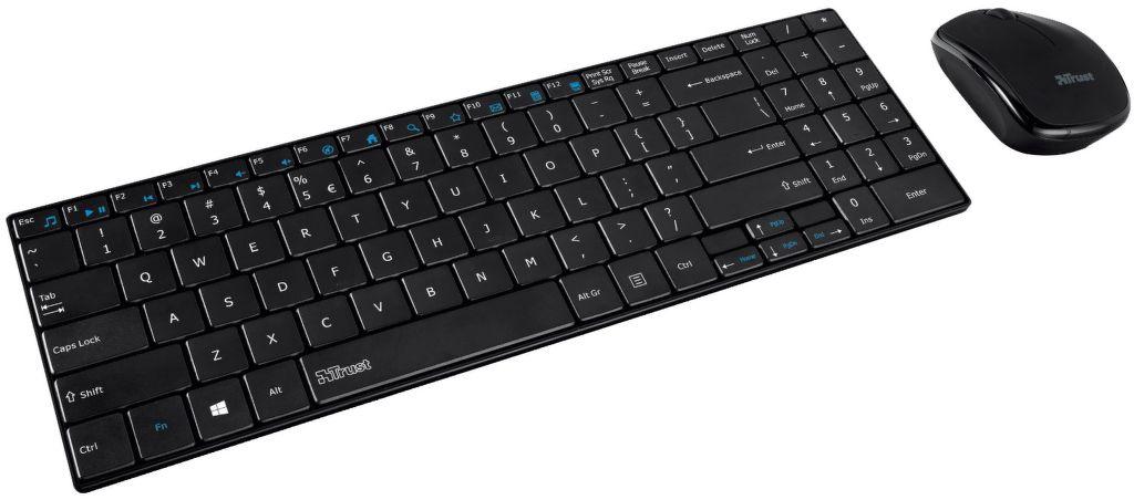 Trust Gusy - bezdrátová klávesnice a myš