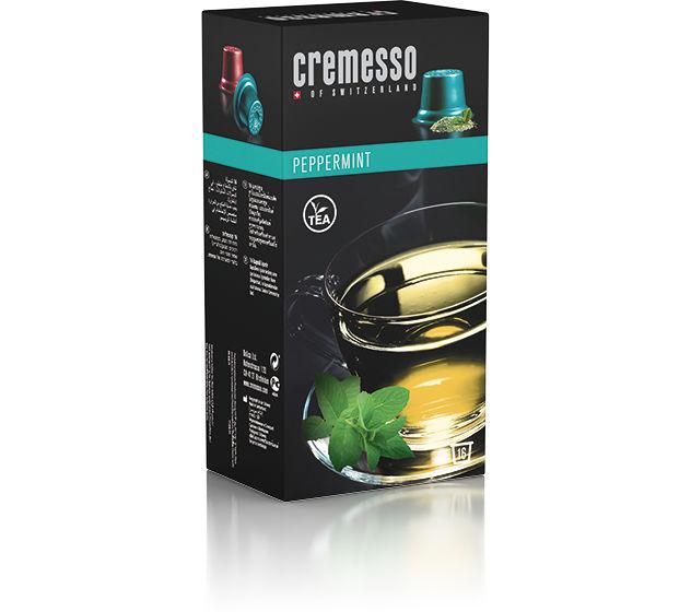 Cremesso mátový kapslový čaj (16ks)