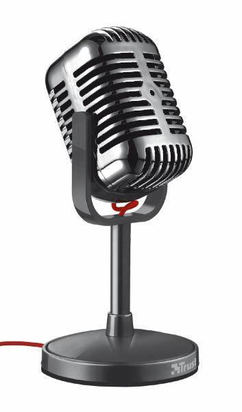 Trust Elvii 20111 - stolní mikrofon