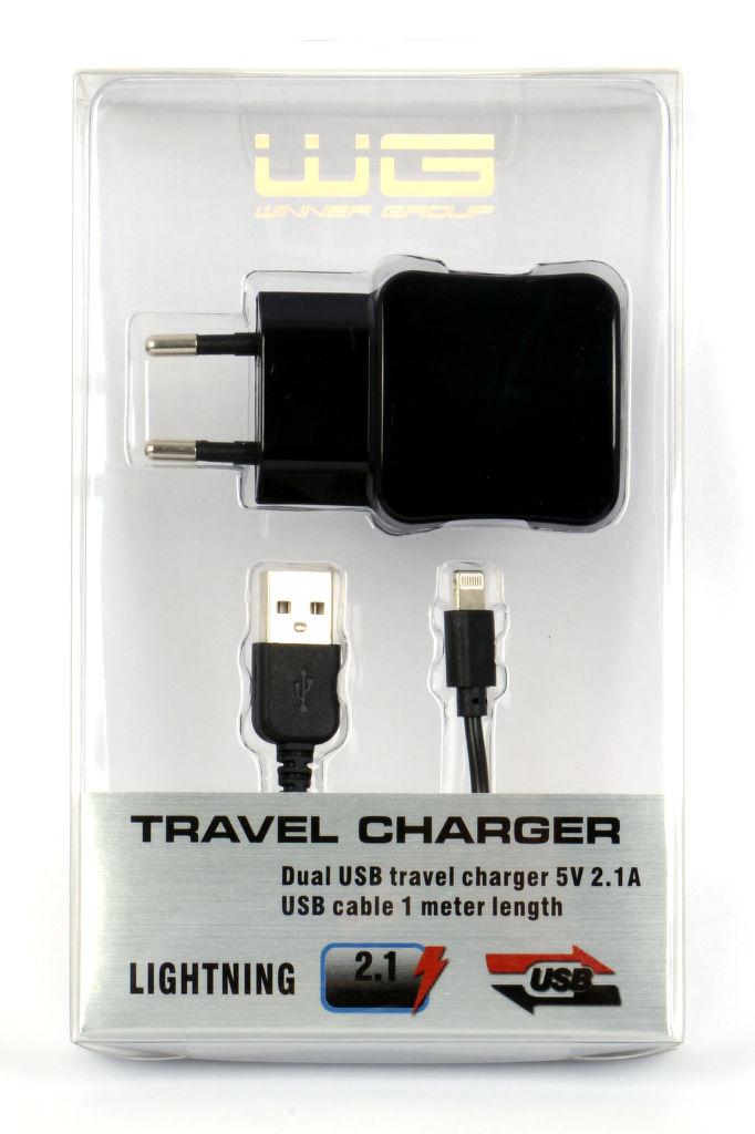 Winner síťová nabíječka + datový kabel pro iPhone 5