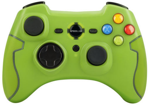 Toride SL-6576-GN pro PC / PS3 (zelená) - bezdrátový herní ovladač