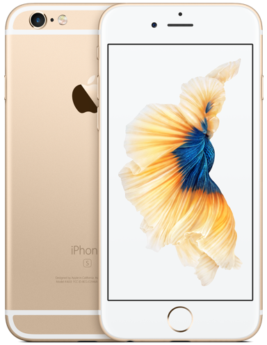 Apple iPhone 6s 128 GB zlatý