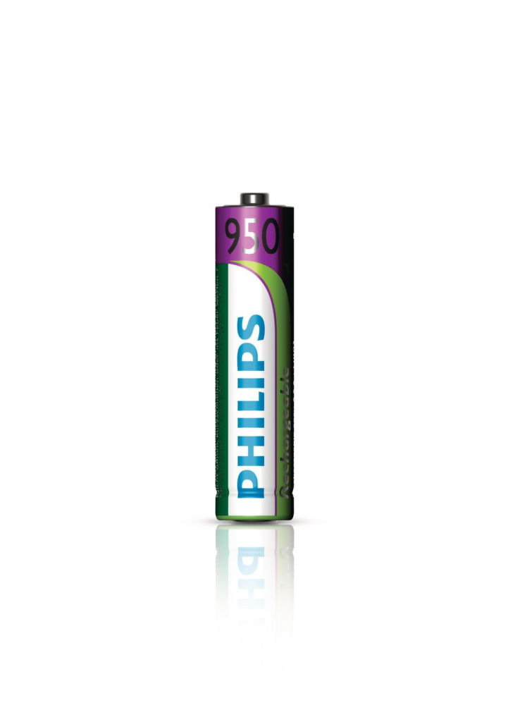 Philips MultiLife 950mAh AAA (HR03), 4ks