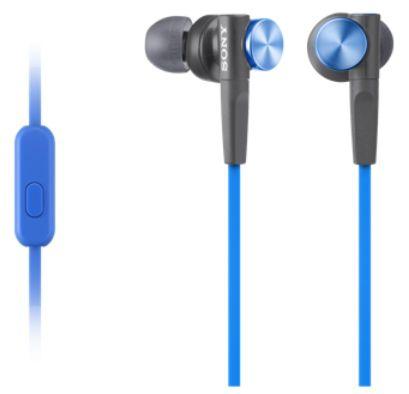 Sony MDR-XB50APL (černo-modrá)