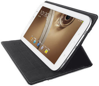 "TRUST Stick & Go Folio Case with stand 7-8 ""tab."""