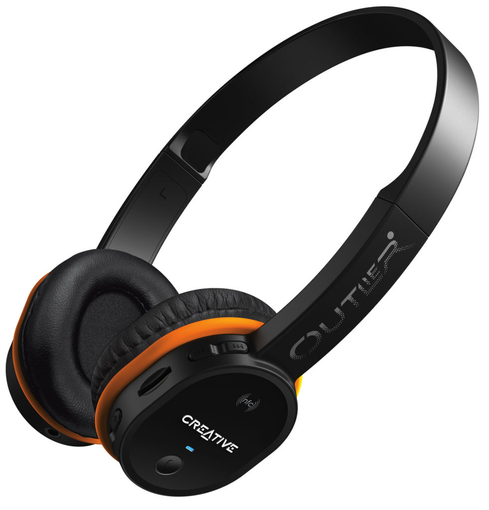 Creative Outlier black - BT headset & MP3 player