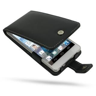Huawei flipové pouzdro pro Ascend D2 (černé)