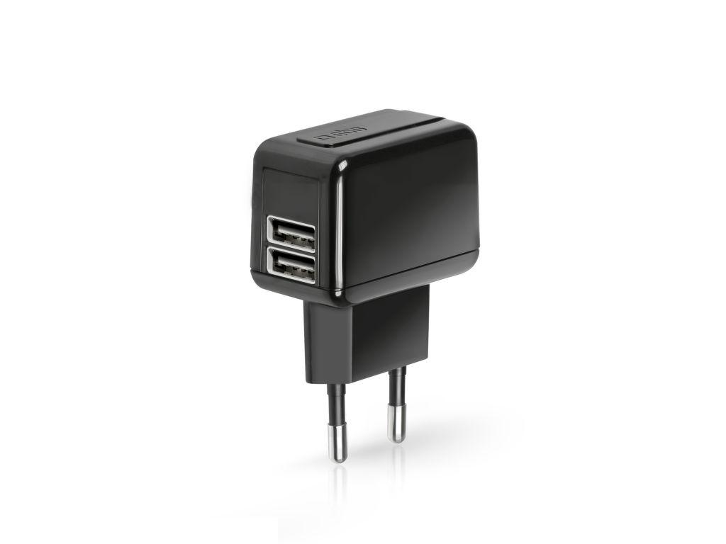 SBS Cestovní nabíječka - 2x USB port