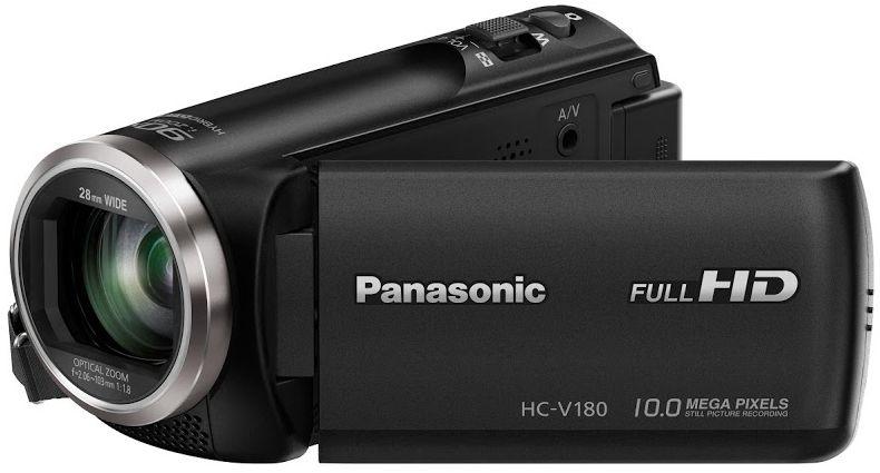 Panasonic HC-V180EP (černá)
