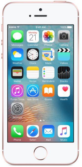 Apple iPhone SE 64GB růžově zlatý
