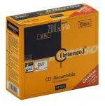 Intenso CD-R, 1001622, 10-pack, 700, 52x, slim case