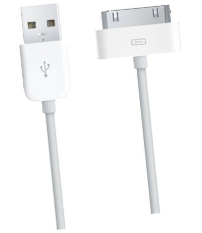 CellularLine USB datový kabel 30-pin (bílý)