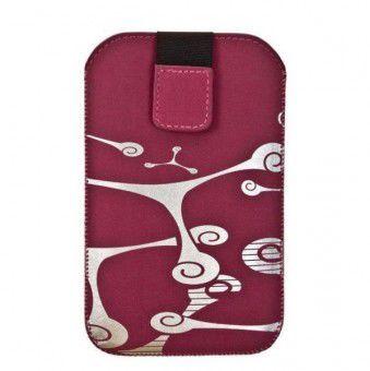 Aligator Fresh Fractal pouzdro pro HTC HD2 (růžové)