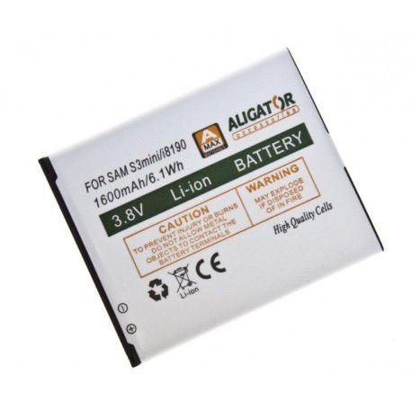 Aligator baterie pro Samsung Galaxy S3 Mini, Li-Ion 1600 mAh