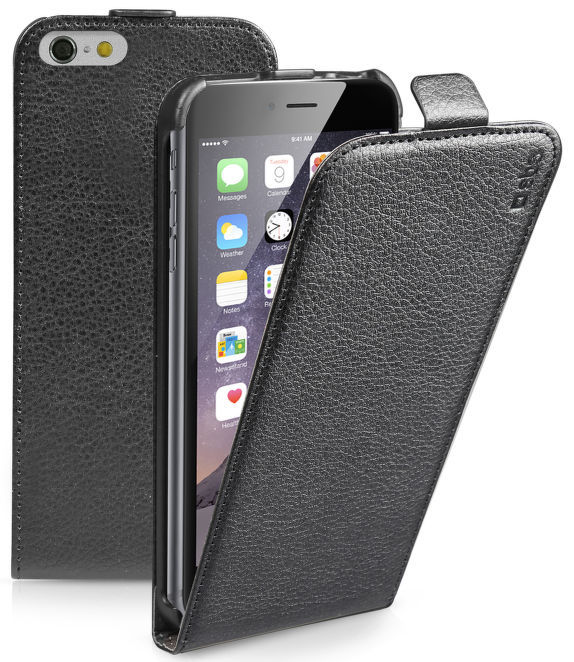 SBS Flip pouzdro pro Apple iPhone 6/6S Plus (černé)