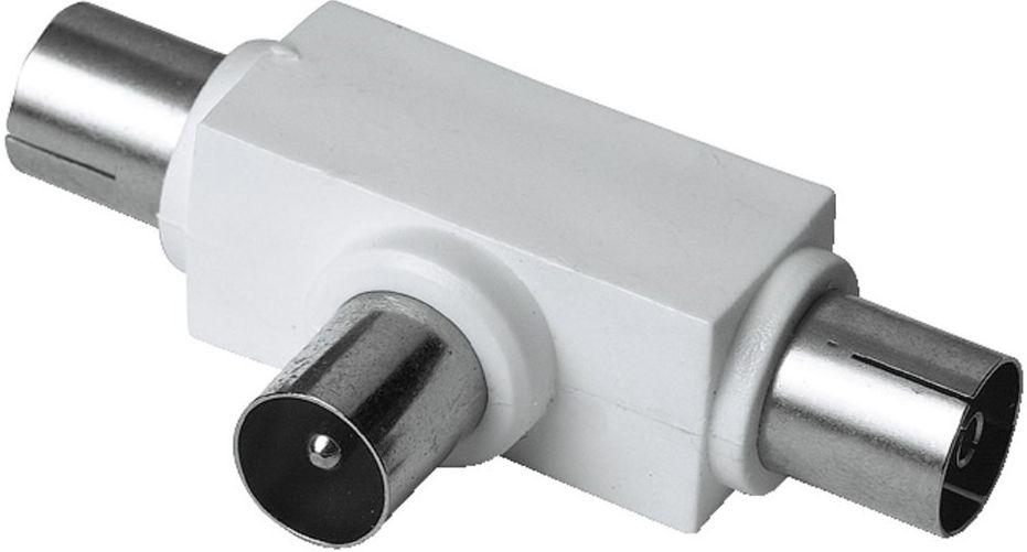 HAMA 122472 rozdvojka pro rádio , koaxiální vidlice - 2 zásuvky