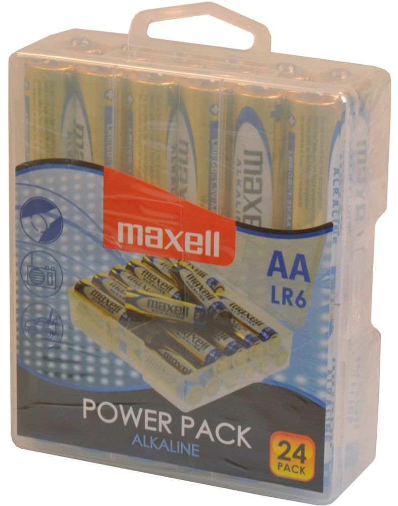 Maxell LR6 24BP AA Power Alkaline