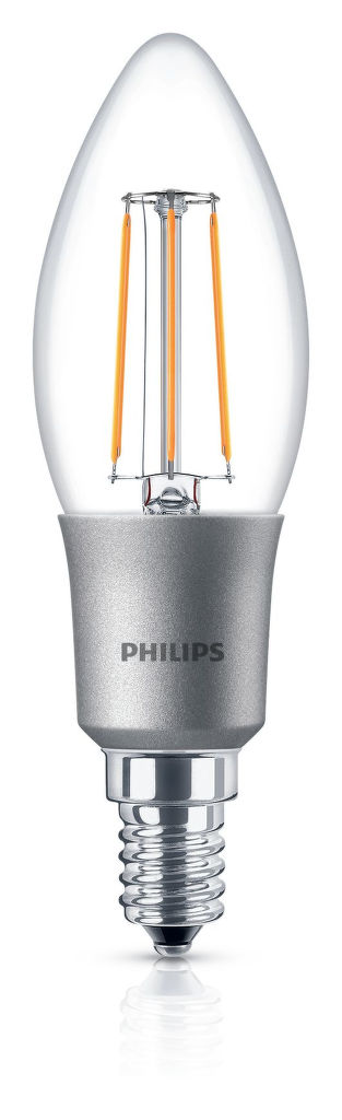Philips Lighting 5W (40W) B35 E14 WW