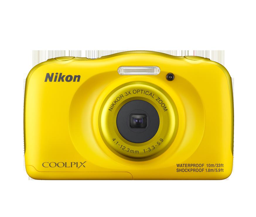 Nikon Coolpix W100 (žlutý)