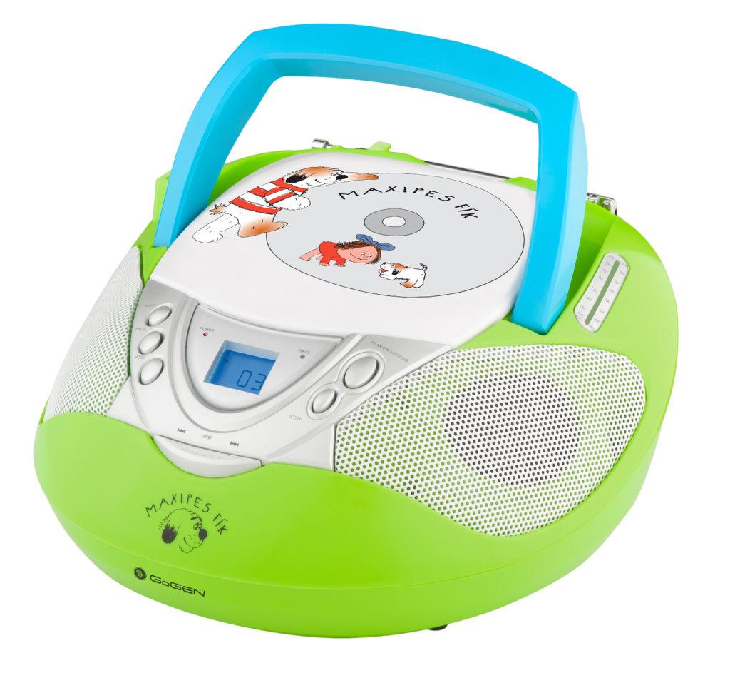 GoGEN Maxipes Fík MAXI RADIO (zelený)