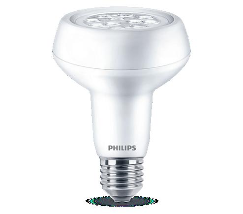 Philips Lighting 7W (100W) R80 E27 WW