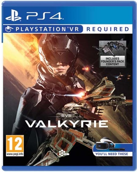 Sony VR Eve Valkyrie - PS4 hra