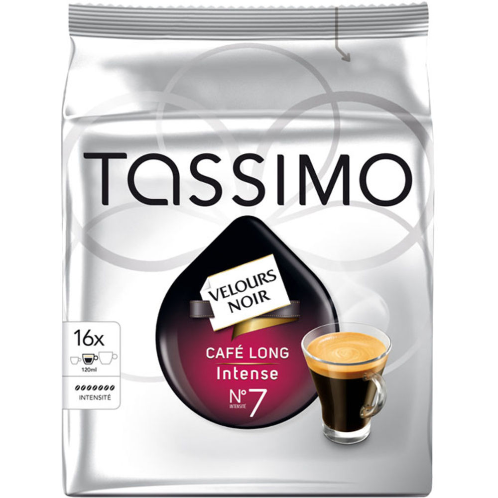 Tassimo Jacobs Café Long Intense (16ks)
