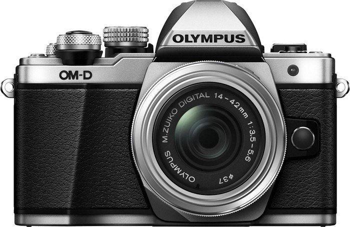 Olympus E-M10 Mark II stříbrný + Pancake 14-42 EZ Kit