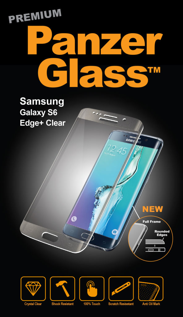 PanzerGlass pro Samsung Galaxy S6 Edge+
