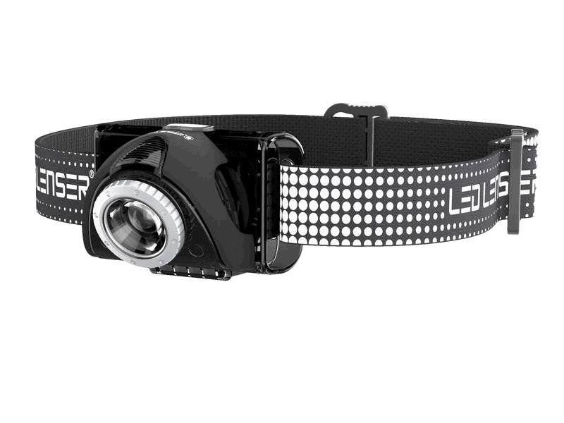 LED Lenser Seo 7R Blk, LED čelovka