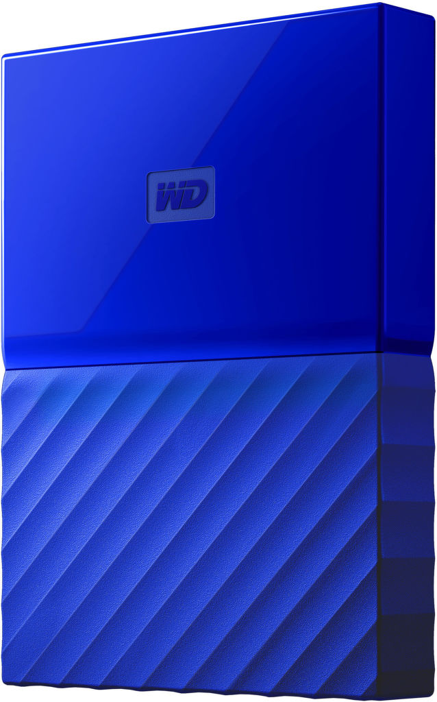 "WD My Passport 2,5"" 2TB USB 3.0 (modrý)"