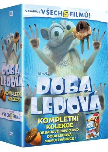 Doba ledová 1-5 - DVD filmy
