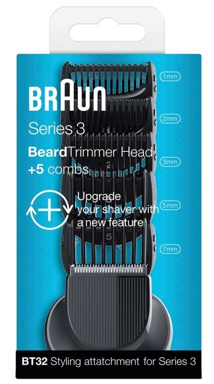 Braun Series 3 Shave&Style BT32 náhradní hlava +5 hrebenů