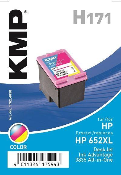 KMP HP 652Col XL H171