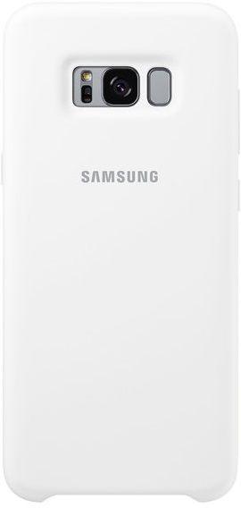 Samsung Silikon Cover EF-PG955 Galaxy S8+ bílý