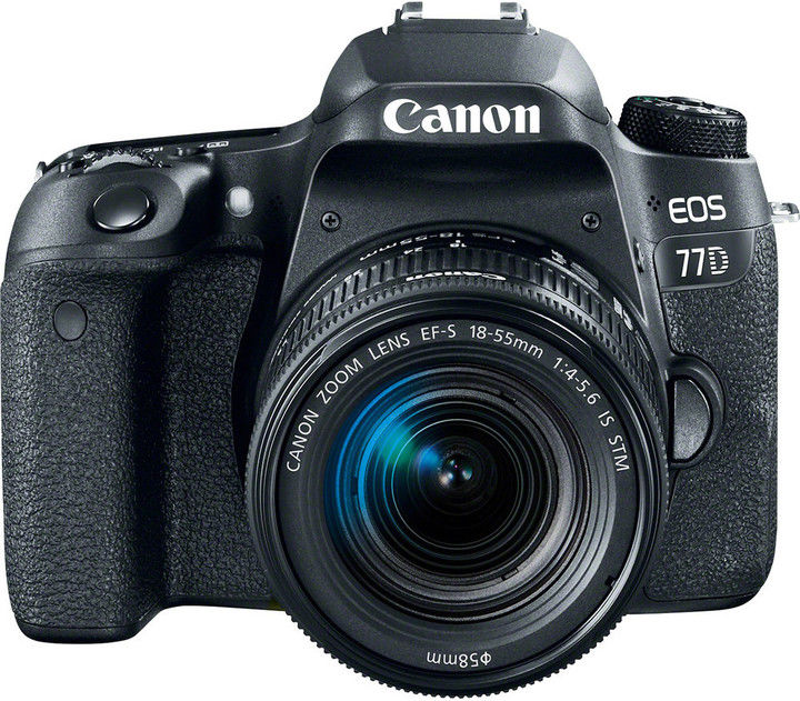 Canon EOS 77D + 18-55, EF-S 18-55 f/4-5,6 IS STM