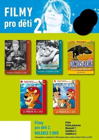 Filmy pro děti 2. - 5 DVD