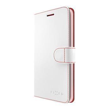 Fixed Fit pouzdro pro Huawei P9 Lite 2017 bíle