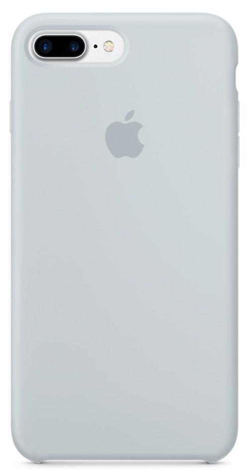 Apple silikonový kryt pro iPhone 7 Plus, mlhavě modrý