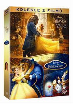 Kráska a zvíře kolekce - 2x DVD film