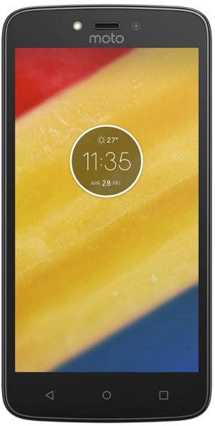 Motorola Moto C Plus Dual SIM černý