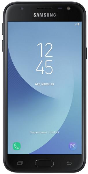 Samsung Galaxy J3 2017 Dual SIM černý