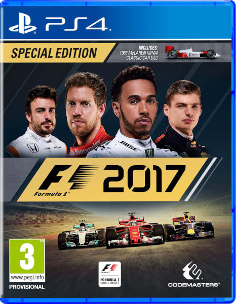F1 2017 - PS4 hra